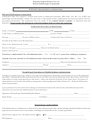 Regional School District No. 16 - Mdi Self-administration Authorization Form