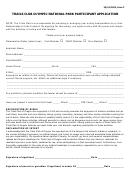 Form C Trails Club Olympic National Park Participant Application