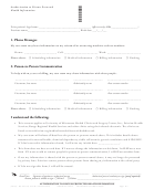 Authorization To Discuss Protected Health Information Form