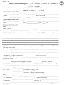 Form C-34 - Case Management Closure