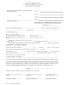 Form Dr 8.1 - Magistrate's Order For Continuance Form - Court Of Common Pleas, Ohio