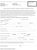 Social Security Disability Fishing Or Hunting License Application Form