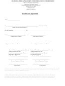 Vessel Lease Agreement Form - Florida