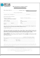 Certificate Of Existence Form - Sbi Life Insurance