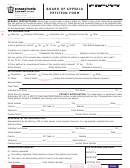 Form Rev-65 Ba - Board Of Appeals Petition Form