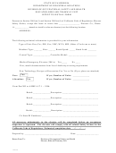 Intent To Install Form - California Department Of Industrial Relations