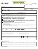 Form Occ-551-001 Occupational/restricted Driver License Application