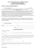 Form Cacl 280.152 Consent To Service Of Process - Commissioner Of Corporations Of The State Of California