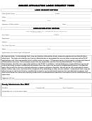 Online Application Login Request Form Online Application Login Request Form