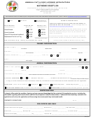Annual Cat & Dog License Application Form - Baltimore County, Md