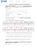 Resume Of Personal Boating Experience Form