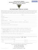 Form S.p. 806 - Internship Application