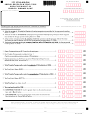 Annual Reconciliation Of 2006 Employer Wage Tax Form - City Of Philadelphia