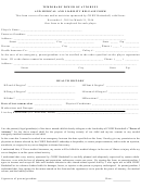 Temporary Power Of Attorney And Medical And Liability Release Form