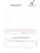 Mechanical Permit Application Form - City Of Wylie Texas