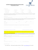 Contractor Registration Application Form - City Of Wylie Texas