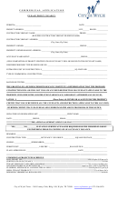 Commercial Building Application Form City Of Wylie Texas