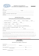 Swimming Pool Permit Form - Municiplity Of Waterville