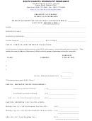 Premium Tax Report Surplus Lines Broker Form - South Dakota Division Of Insurance