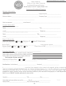 Summary Of Unclaimed Property Form - Kansas Office Of The State Treasurer