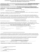 Authorization Form To Use And Disclose Protected Health Information Foster Care Assessment Program (fcap)