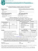 Multi-purpose License Renewal Application Form - Rhode Island Department Of Environmental Management