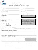 Lihs Building Use Community Agency Request Form