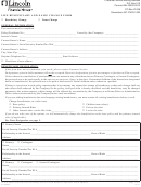 Form Cs06893 - Life Beneficiary And Name Change Form