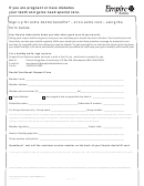 Dental Enrollment Request Form