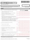 Vermont Form Bi-473 - Partnership/limited Liability Company Schedule - 2007