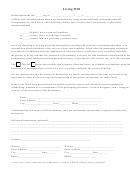 Living Will, Designation Of Health Care Surrogate, Uniform Donor Forms