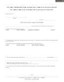 Petition For Guardianship Of Minor Form