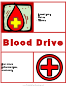 Blood Driver Flyer Template