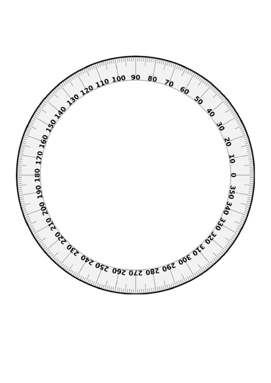 360 Degree Chart Printable pdf