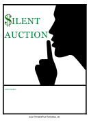 Silent Auction Flyer Template