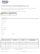 Electronic Solutions Associates (esa) Rma Request Form