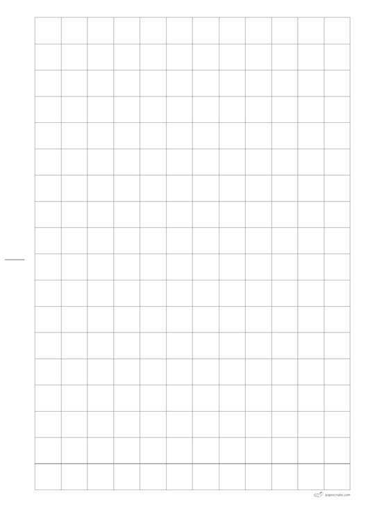 15x15 Squared Paper Printable pdf