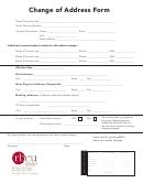 Rbcu Change Of Address Form