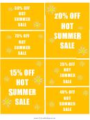 Summer Sale Templates
