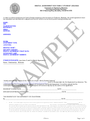 Sample Rental Agreement Template For Family Student Housing