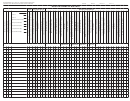 Roster/ Sample Matrix