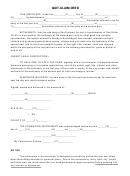 Quit-claim Deed Form