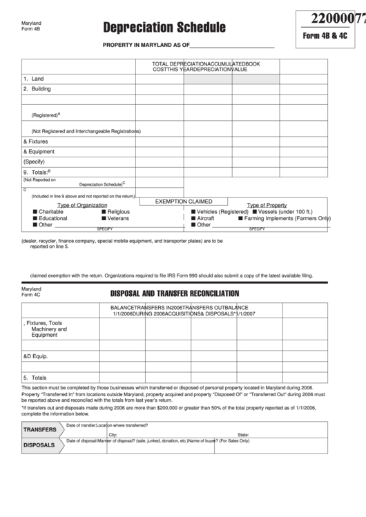 Top 43 Maryland Personal Property Tax Form Templates free to ...