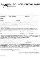 Adult Registration Form