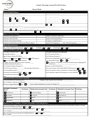 Family Planning Annual Health History Form