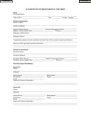 Authorization For Minor's Medical Treatment Form