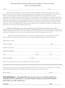 Registration, General Release Of Liability And Convenant Not To Sue For Minors Form - Georgia Department Of Natural Resources
