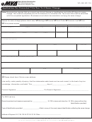 Form Vr-448 Application For A Corrected Title Due To A Name Change