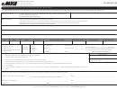 Form Vr-028 Application For Salvage Certificate/owner Retention