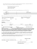 Dpps Check Forgery Affidavit Form